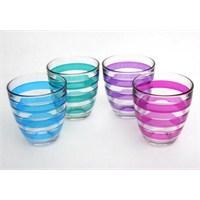 Paşabahçe Helezon Su Bardağı 4Lü