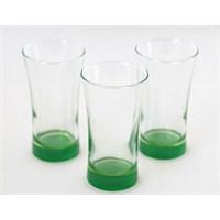 Paşabahçe Azur 3Lü Meşrubat Bardağı Yeşil