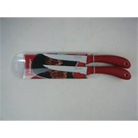 T-Design Nonstıck İkili Biftek Bıçağı Seti