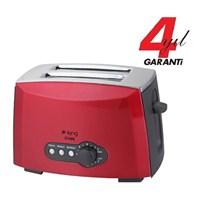King K 2175r Crispy Ekmek Kızartma Makinesi (Kırmızı)