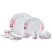 Biev 35 Parça Bone Porselen Kahvaltı Seti