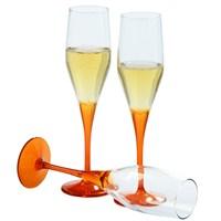 Paşabahçe Workshop 6 Lı Dream Şampanya Kadehi Oranj