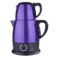 Premier PTP 2315 Çelik 2000W 1.8 lt Çay Makinesi Mor