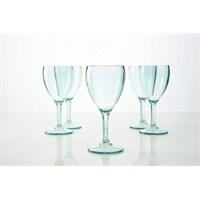 Plabar Kırılmaz Şarap Bardağı (Yeşil) 6Lı