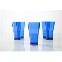 Plabar Kırılmaz Tülip Bardak (Mavi) 12Li