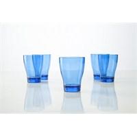 Plabar Kırılmaz Su Bardağı (Mavi) 6Lı