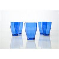 Plabar Kırılmaz Büyük Su Bardağı (Mavi) 6Lı