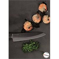 Kyocera Seramik Chef Bıçağı Fk-180Bk-Bk
