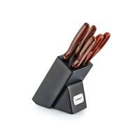 Noble Life Bs 517 6 Parça Bıçak Seti - Ceviz - 12846