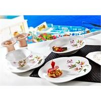 Noble Life Kamelya 24 Parça Porselen Yemek Takımı - 16417