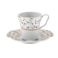 Kütahya Porselen Nil 8529 Desen Kahve Takımı