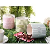 Keramika Set Saklama Kabı Ege 12 Cm 3 Parça Prımıdın