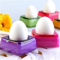 Bluezen Renkli Akrilik Yumurtalık 6'Lı