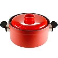 iHouse 14010 Stonware 4000Ml Tencere 26Cm Kırmızı
