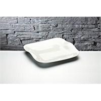 iHouse Gnd-11 Porselen Servis Tabağı Beyaz