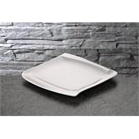 iHouse Lx02 Porselen Servis Tabağı Beyaz