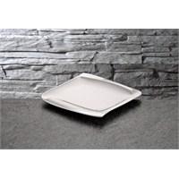 iHouse Lx03 Porselen Servis Tabağı Beyaz