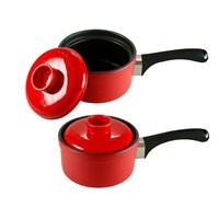 iHouse 14002 Stonware 1000Ml Kulp.Tava16cm Kırmızı