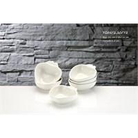 iHouse Yg05 Porselen Elma Kase Beyaz