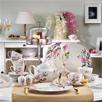 Kütahya Porselen 33 Parça 8373 Desen Kahvaltı Takımı