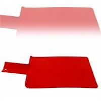 Gondol Katlanabilir Plastik Kesme Panosu Kırmızı
