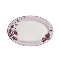 Pure Blanche Bone Porselen Kayık Tabak 25 Cm Blossom 2 li