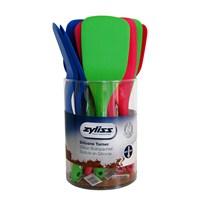 Zyliss E71625 Silikon Kıvrık Spatula (Stand 12 Adet)