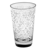 Joy Glass 6 Lı İzmir Şal Desen Meşrubat Bardağı