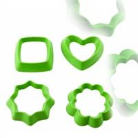 Atadan Aroma 4 lü Bisküvi Kalıbı Yeşil