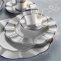 Kütahya Porselen Nil 12 Kişilik 83 Parça 627441 Desen Yemek Takımı