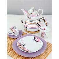 Verda Porselen Kahvaltı Takımı 47 Parça