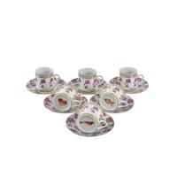 Lucky Art Flowery 6Lı Fincan Seti-Falcı