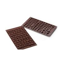 Silikomart Abc Çikolata Kalıbı