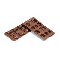 Silikomart Teatime Çikolata Kalıbı