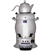 5 Lt Çift Demlikli Çay Makinası Elegance Çay Otomatı