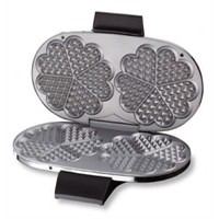 Cloer 1329 Çiftli Inox Waffle Makinesi