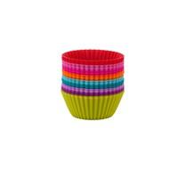 Tantitoni Silikon Renkli 18'Li MTEASYF98618 Muffin Kalıbı