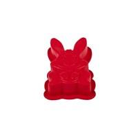 Tantitoni Silikon Kırmızı Tavşan Şekilli Kek Kalıbı