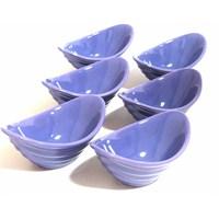 Keramika Çerezlık Gondol 16 Cm Mor 501