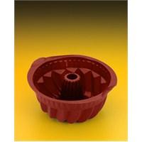 Metaltex Silikon Borulu Tip Kek Kalıbı ( Çap 22 Cm )