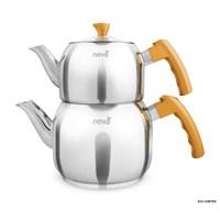 Neva N013 Cortes Maxi Çaydanlık Takımı Gold