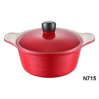 Neva N715 Sweet Ceramica Krem 24 Cm Derin Tencere
