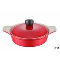 Neva N717 Sweet Ceramica Krem 24 Cm Karnıyarık Tencere