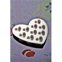 Royal Windsor 2 Adet Silikon Kalp Şekilli Lüx Kek Kalıbı
