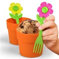 Çiçek Cupcake Pişirme Kalıbı Seti
