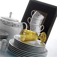 Kütahya Porselen Stella 2381 Desen Yemek Takımı