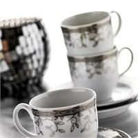 Kütahya Porselen Corner Collection 12 Parça 8511 Desen Çay Takımı