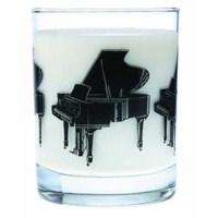 Kuyruklu Piyano Cam Bardak