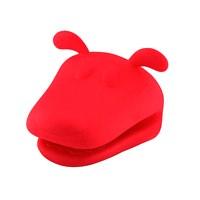 Tantitoni Silikon Kırmızı Köpek Şekilli Fırın Eldiveni