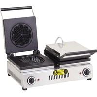 Remta Çiftli Yonca Model Waffle Makinası Elektrikli-16 Cm